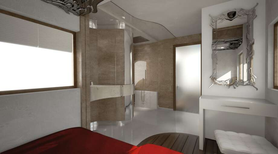 It even has its own en-suite bathroom. Photo: Business Insider Via Marchi Mobile