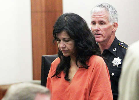 Ana Lilia Trujillo appears in court on June 11, 2013. Photo: James Nielsen, (James Nielsen / Houston Chronicle) / © 2013  Houston Chronicle