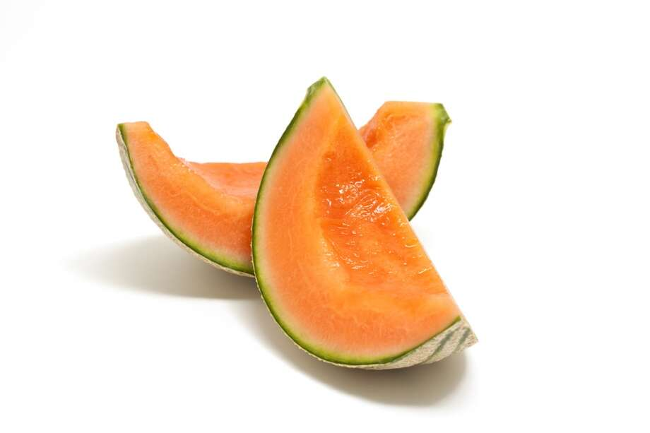 Good: Cantaloupe (high in Vitamin A)