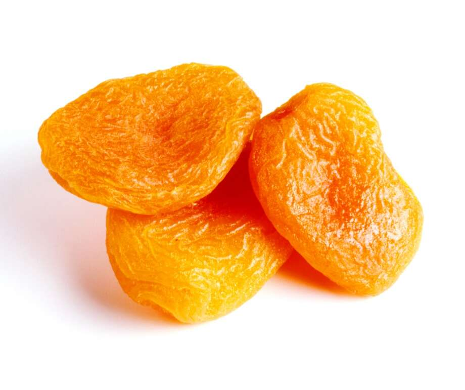 Good: Dried fruit such as apricots (high in magnesium)