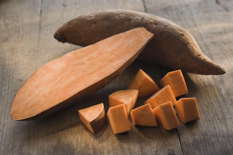Good: Sweet potatoes (high in Vitamin A)