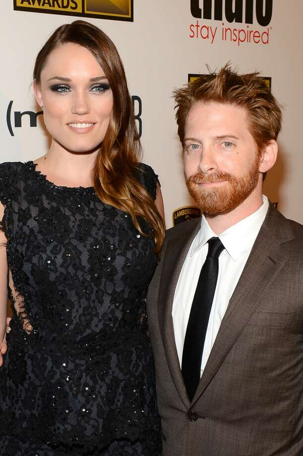 """Seth Green5'4"""" (L-R) Actors Clare Grant and Seth Green arrive at Broadcast Television Journalists Association's third annual Critics' Choice Television Awards at The Beverly Hilton Hotel on June 10, 2013 in Los Angeles, California."""