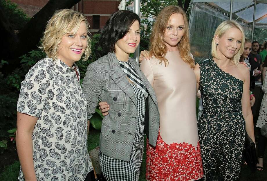 NEW YORK, NY - JUNE 10:  Amy Poehler, Jessica Seinfeld, Stella McCartney and Naomi Watts attend the Stella McCartney Spring 2014 Collection Presentation Street on June 10, 2013 in New York City.  (Photo by Randy Brooke/Getty Images)