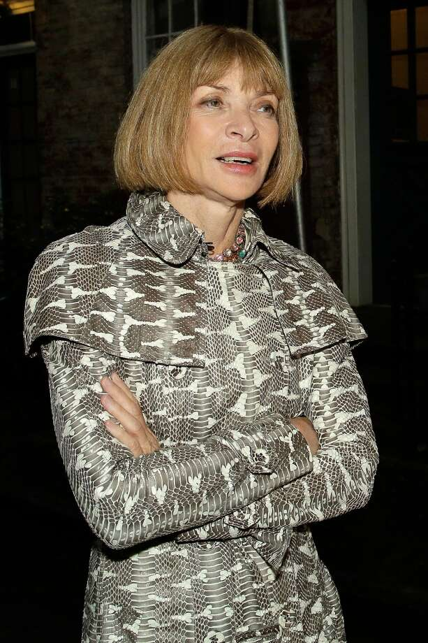 NEW YORK, NY - JUNE 10:  Anna Wintour attends the Stella McCartney Spring 2014 Collection Presentation at West 10th Street on June 10, 2013 in New York City. (Photo by Randy Brooke/Getty Images)