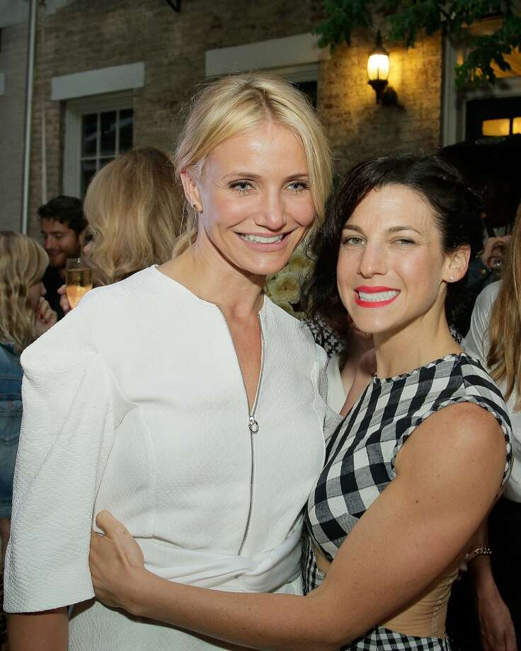 NEW YORK, NY - JUNE 10:  Cameron Diaz  and Jessica Seinfeld attend the Stella McCartney Spring 2014 Collection Presentation at West 10th Street on June 10, 2013 in New York City.  (Photo by Randy Brooke/Getty Images)