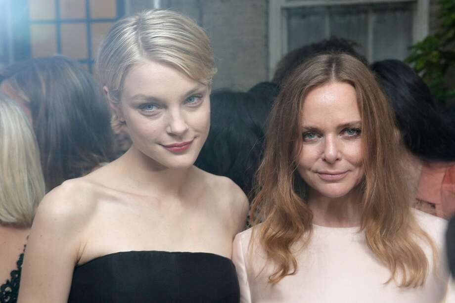 NEW YORK, NY - JUNE 10:  Jessica Stam and Stella McCartney attend the Stella McCartney Spring 2014 Collection Presentation at West 10th Street on June 10, 2013 in New York City.  (Photo by Randy Brooke/Getty Images)