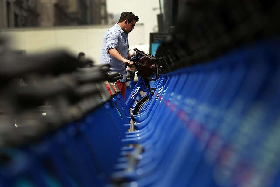Bay Area Bike Share To Begin This Summer SFGate