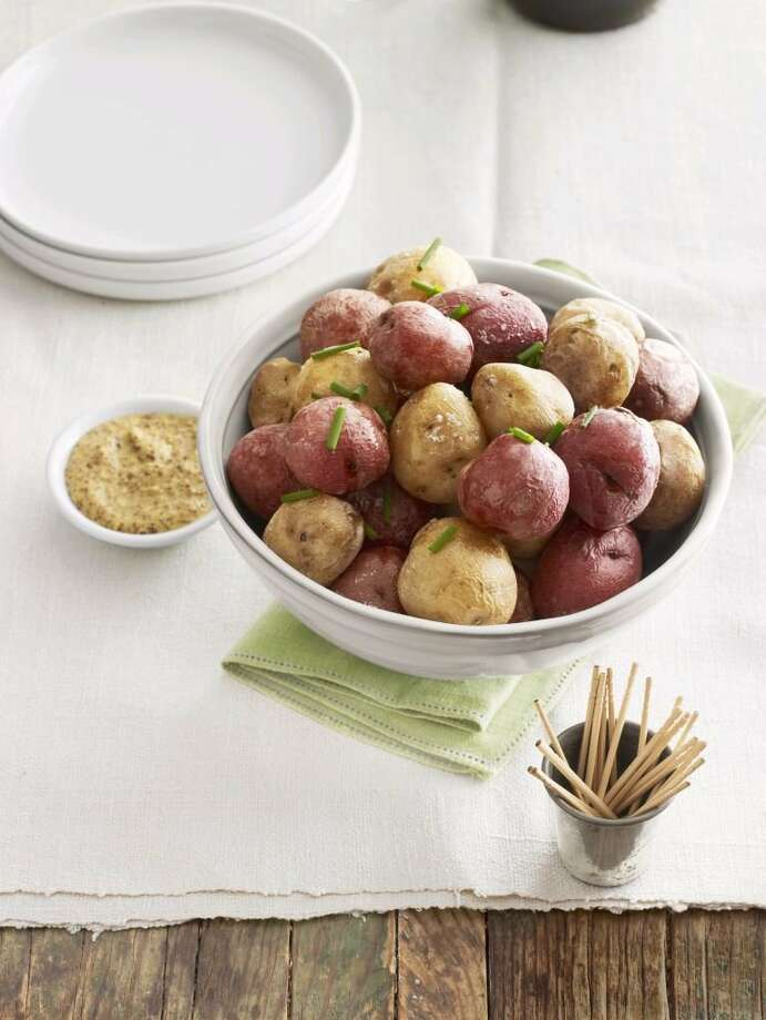 Country Living recipe for Salt-Baked New Potatoes. Photo: Andrew Purcell