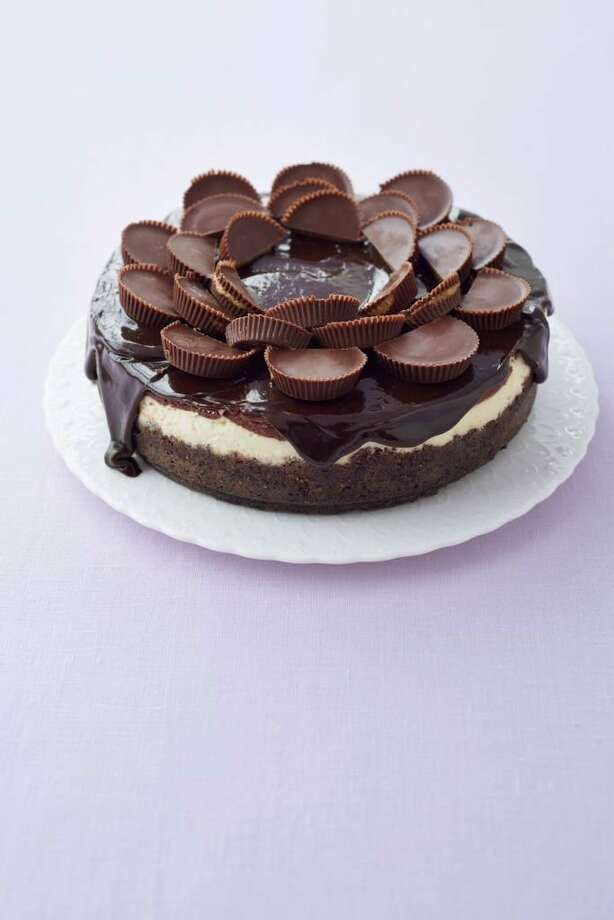 Good Housekeeping recipe for Peanut Butter Cup Cheesecake. Photo: Con Poulos