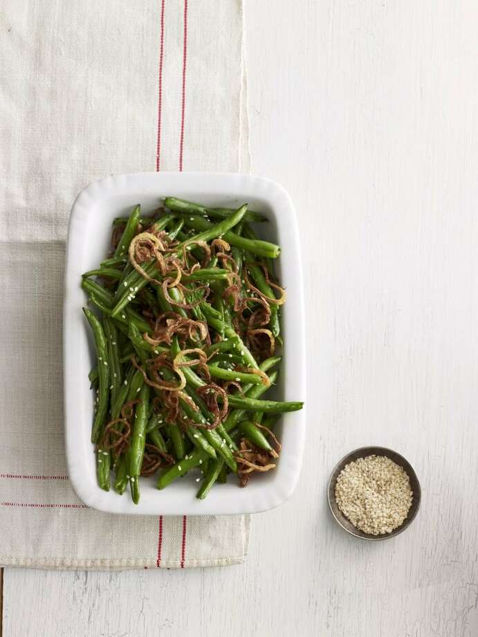 Country Living recipe for Sesame-Ginger Green Beans. Photo: Andrew Purcell