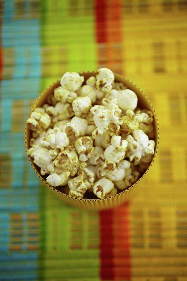 "Caribbean Spice Popcorn from ""Popcorn! 100 Sweet and Savory Recipes"" by Carol Beckerman. Photo: Quintet Publishing Limited"