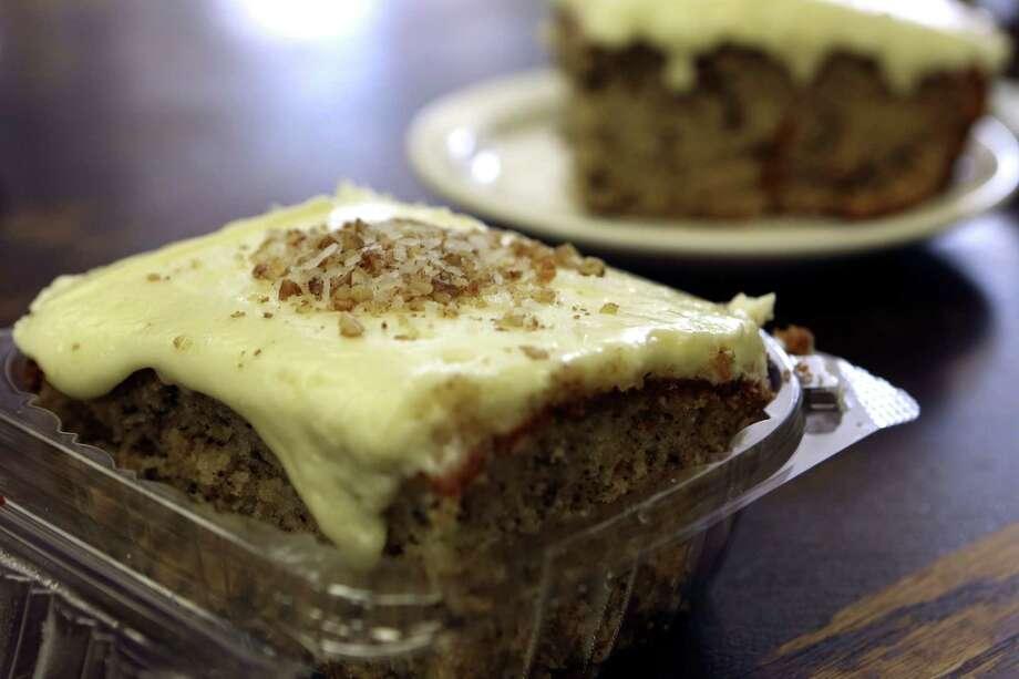 Italian cream cake from Joseph's Storehouse. Photo: Helen L. Montoya, San Antonio Express-News / ©2013 San Antonio Express-News