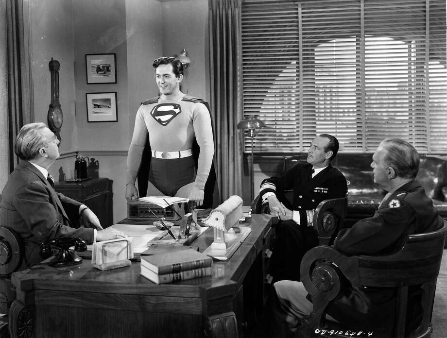 "Kirk Alynstarred as Superman in the 1948 serial ""Superman."" Photo: Archive Photos, File / 2012 Getty Images"