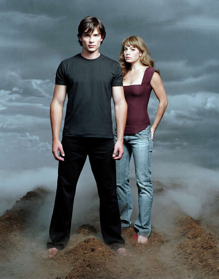 "Tom Welling starred as Clark Kent opposite Erica Durance as Lois Lane in ""Smallville"" from 2001-2011. Photo: Warner Bros., File / Warner Bros."