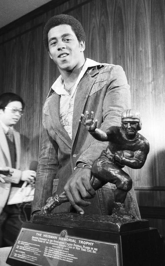 Tony Dorsett — The legendary running back is only one of two players in history (Marcus Allen being the other) to have won a Heisman, a national championship and a Super Bowl and to be enshrined in both the Pro and College Hall of Fames. Photo: MARTY LEDERHANDLER, AP / AP