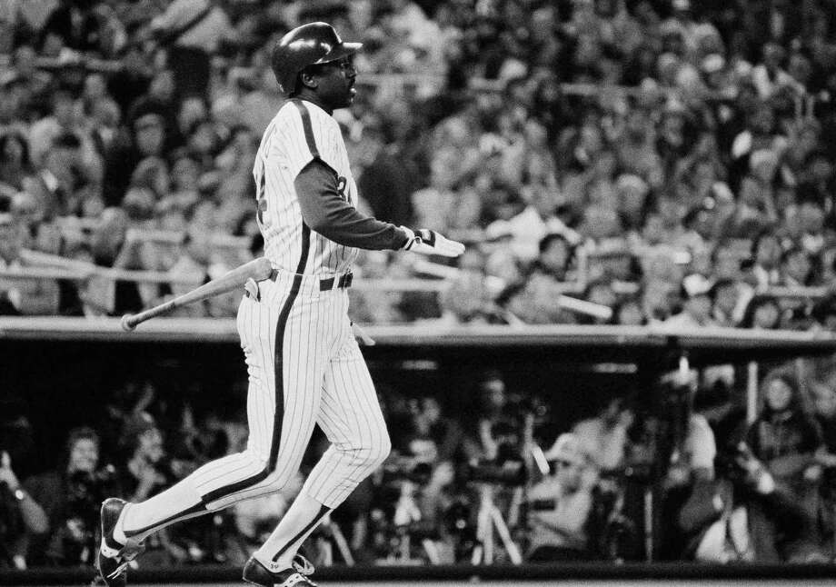 Gary Matthews — The NLCS MVP with the Phillies was a color commentator for the team after he retired. Photo: Anonymous, ASSOCIATED PRESS / AP