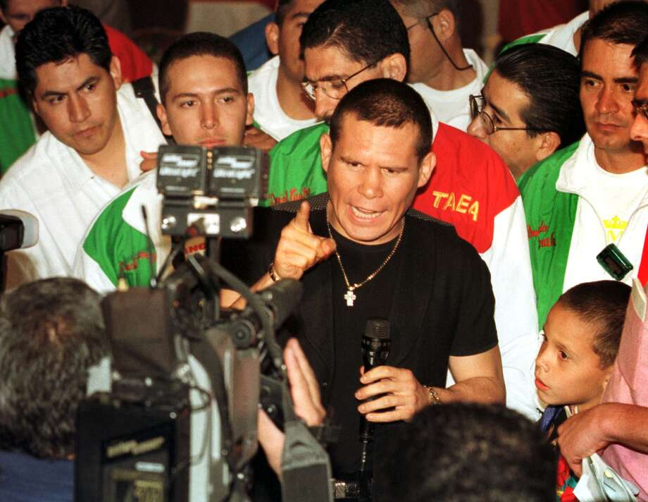 Julio Cesar Chavez — Considered the greatest boxer to come out of Mexico, Chavez won six world titles in three different weight divisions. Photo: STEVE MARCUS, REUTERS