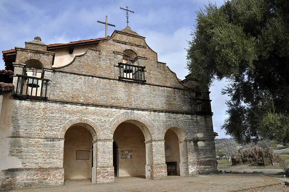 The bell at the center of Mission San Antonio's chapel was the first bell ever cast in California. Photo: Christine Delsol, Special To SFGate