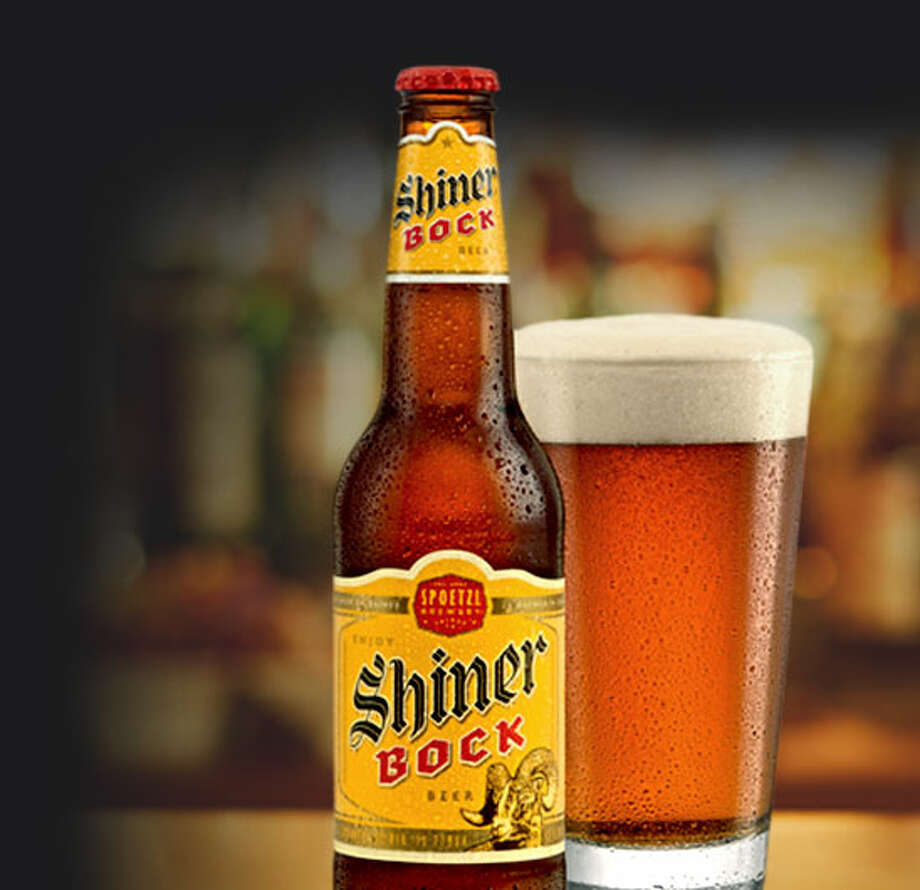 If Lone Star isn't your thing, Texas has plenty of other home-brewed brews, like Shiner Bock made in Shiner, Texas.