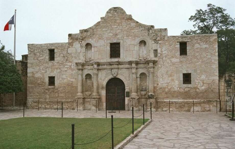 "Battle cry (TX): ""Remember the Alamo"""