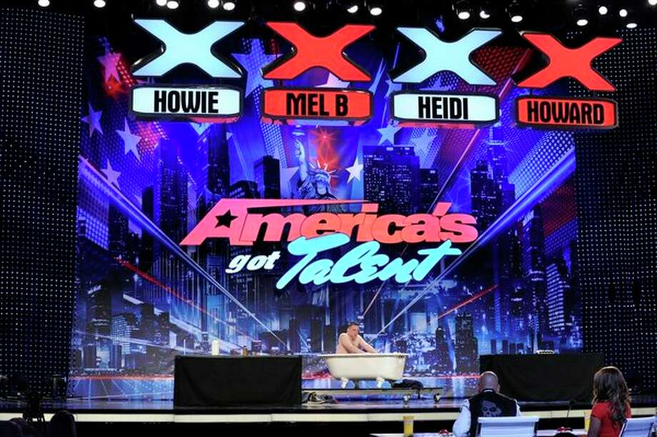 AMERICA'S GOT TALENT -- Episode 801 -- Pictured: Chuck from the Bronx -- Did not move on. Photo: NBC, Virginia Sherwood/NBC / 2013 NBCUniversal Media, LLC.