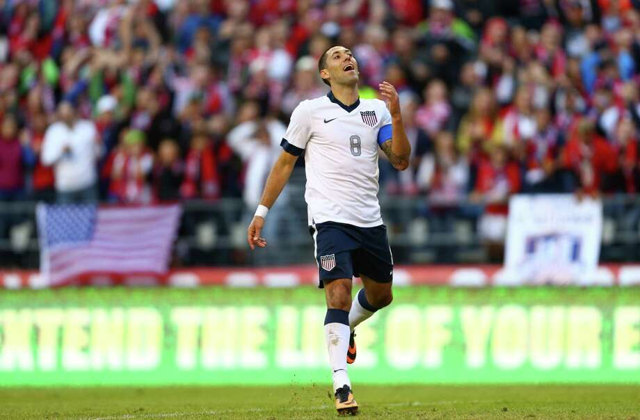 U.S. Clint Dempsey reacts to a missed shot in the second half during a World Cup qualifying match against Panama on Tuesday, June 11, 2013 at CenturyLink Field in Seattle. The U.S. defeated Panama 2-0. Photo: JOSHUA TRUJILLO, SEATTLEPI.COM / SEATTLEPI.COM