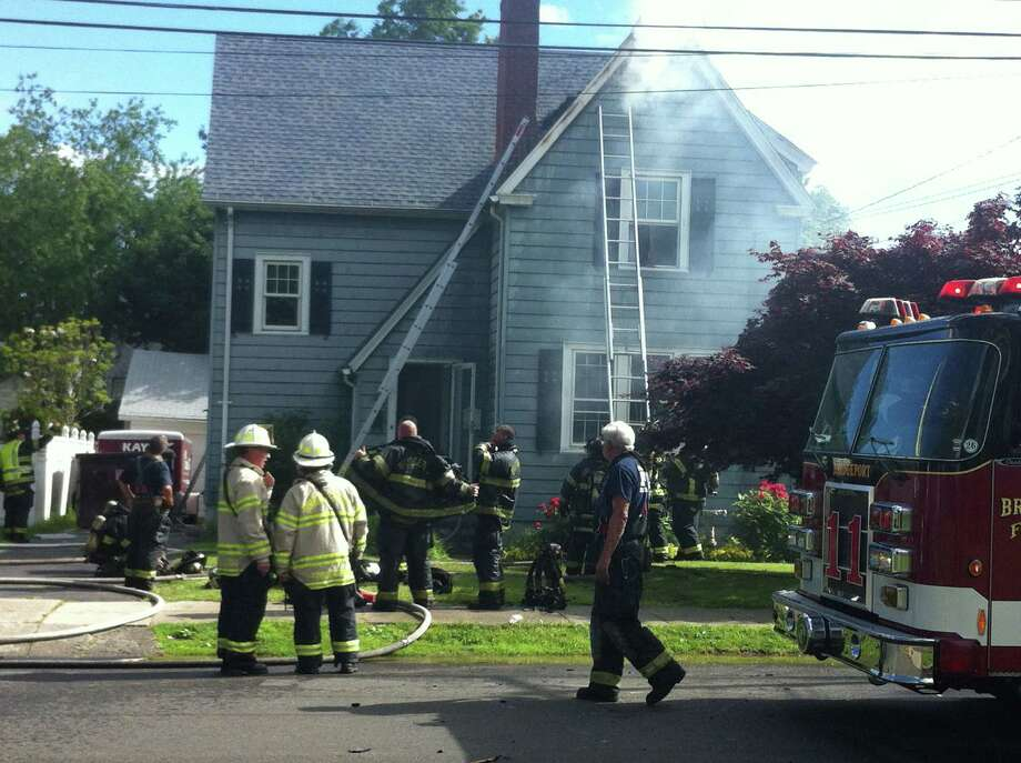 A fire broke out in a Black Rock home, June 12. Photo: Contributed / Connecticut Post Contributed