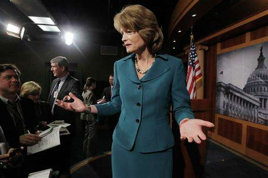 "Sen. Lisa Murkowski, R-Alaska – Murkowski voted with her party for delaying the Affordable Care Act, a.k.a. Obamacare. From a statement issued by her office: ""While she continues to oppose the Affordable Care Act, Sen. Murkowski believes it is time for the president and Senate and House leaders to come together and find a solution to fund the government."" Photo: Charles Dharapak, AP / AP"
