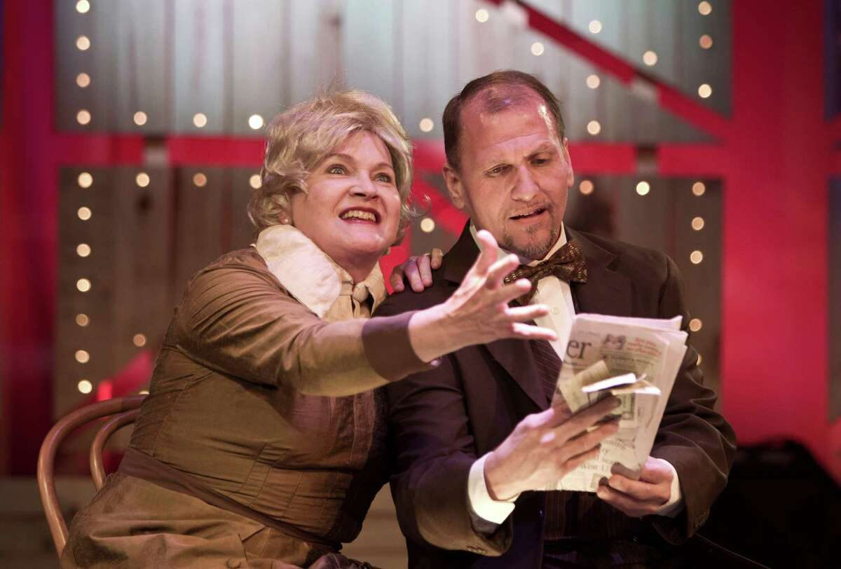 Susan Shofner and L.J. Meyer star in the Stages Repertory Theater production of