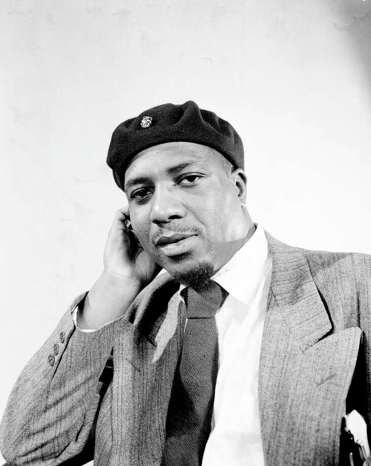 **FILE**Jazz pianist and composer Thelonious Monk poses in an unknown location  in January 1949. Monk, whose North Carolina roots were evident in his music and his accent long after he moved to New York, will be the focus of an 18-event tribute opening on Sept. 15, 2007, at Duke University.  (AP Photo)