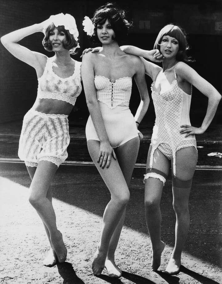 New trends in women's underwear in 1974  (Photo by Keystone-France/Gamma-Keystone via Getty Images)