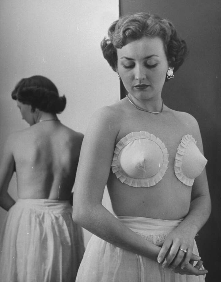 New Type Brassieres.  (Photo by Nina Leen//Time Life Pictures/Getty Images)
