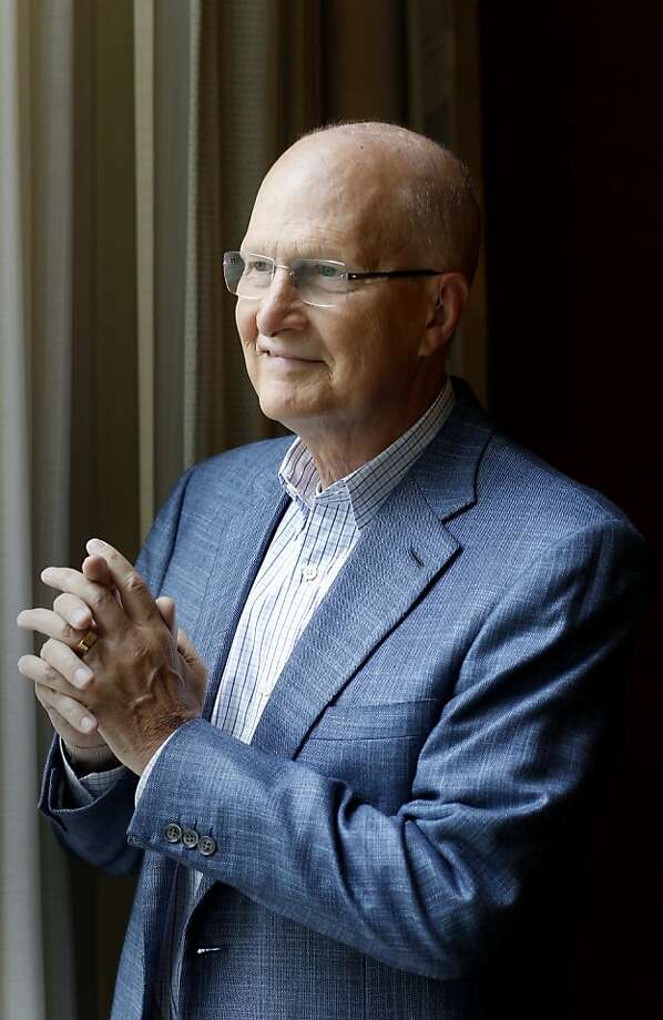 Lawrence Stupski became an advocate  for cancer research. Photo: Brant Ward, The Chronicle