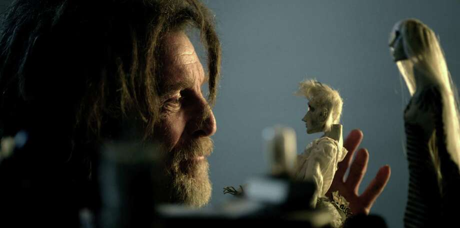 """Gustav (John Glover), an artist who loses his mind when he loses himself in a world of figurines, is the focus of the first section of """"Sanitarium,"""" a collaboration by three San Antonio filmmakers. Photo: Sanitarium The Movie LLC."""