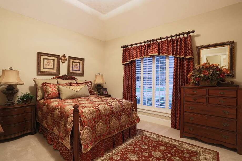 Secondary/guest room down stairs....great for quarters or extended stay guests. Photo: HAR