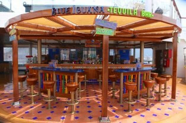 The Blue Iguana Tequila bar. (Carnival Cruise Lines)