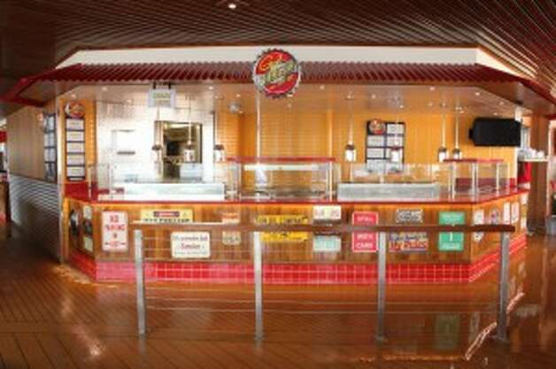 Guy's Burger Joint.  (Carnival Cruise Lines)