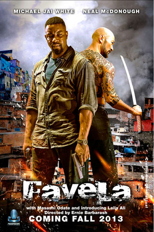 "Michael Jai White, a Bridgeport native, is starring in the Moonstone Entertainment action film, ""Favela."""