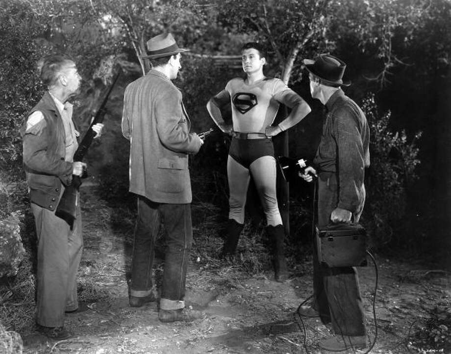 George Reeves starred as Superman in two films and the TV series The Adventures of Superman.