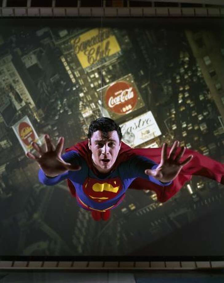 """Bob Holiday was Superman in the Broadway production """"It's a Bird...It's A Plane...It's Superman."""""""