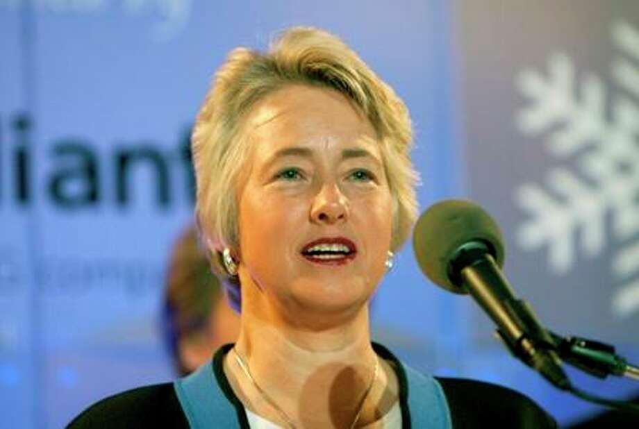 """I hope the Supreme Court moves us into the future."" -- Mayor Annise Parker Photo: Cody Duty / © 2012 Houston Chronicle"
