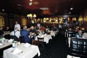 Times Union Photo by James Goolsby Oct. 24, 2006-The main dining room of D'Raymonds Restaurant at 269 Osborne Rd. Loudonville N.Y.