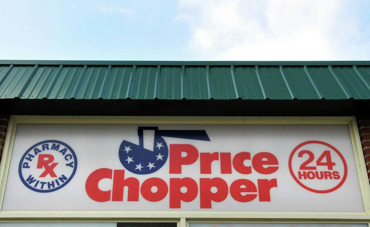 Sign at Price Chopper store on New Scotland Rd. in Slingerlands Wedneday Dec. 28, 2011. (John Carl D'Annibale / Times Union)