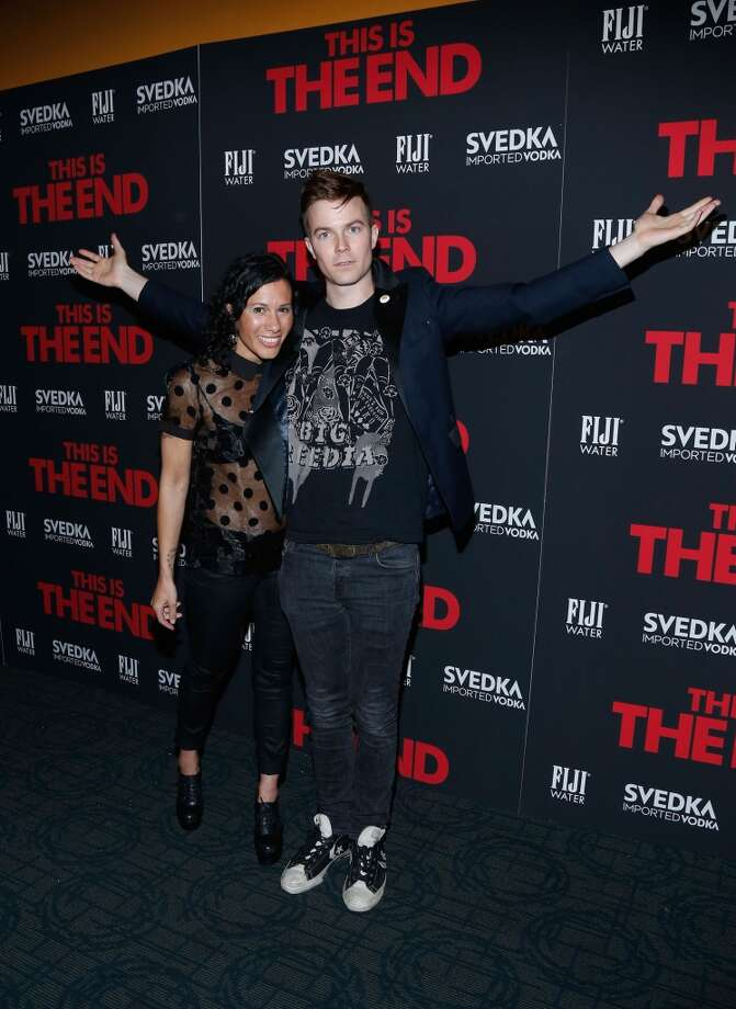 Matt of Matt & Kim might have trouble sitting down in these. Photo: Cindy Ord, Getty Images
