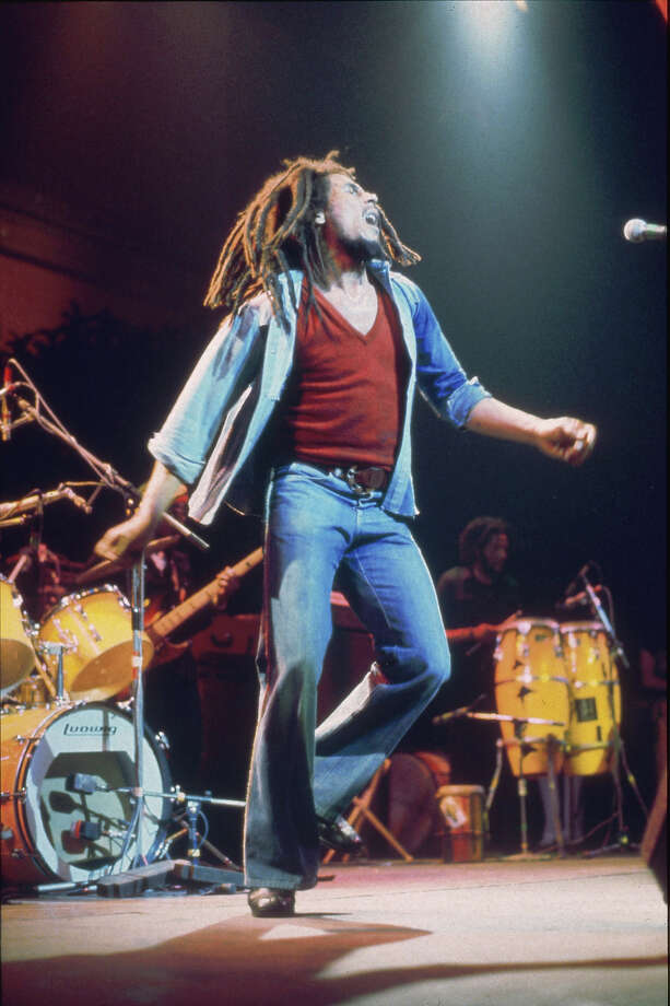 1977: Bob Marley introduced the world of reggae to the Canadian tuxedo, crossing borders and religions. Photo: Estate Of Keith Morris, Redferns / Redferns
