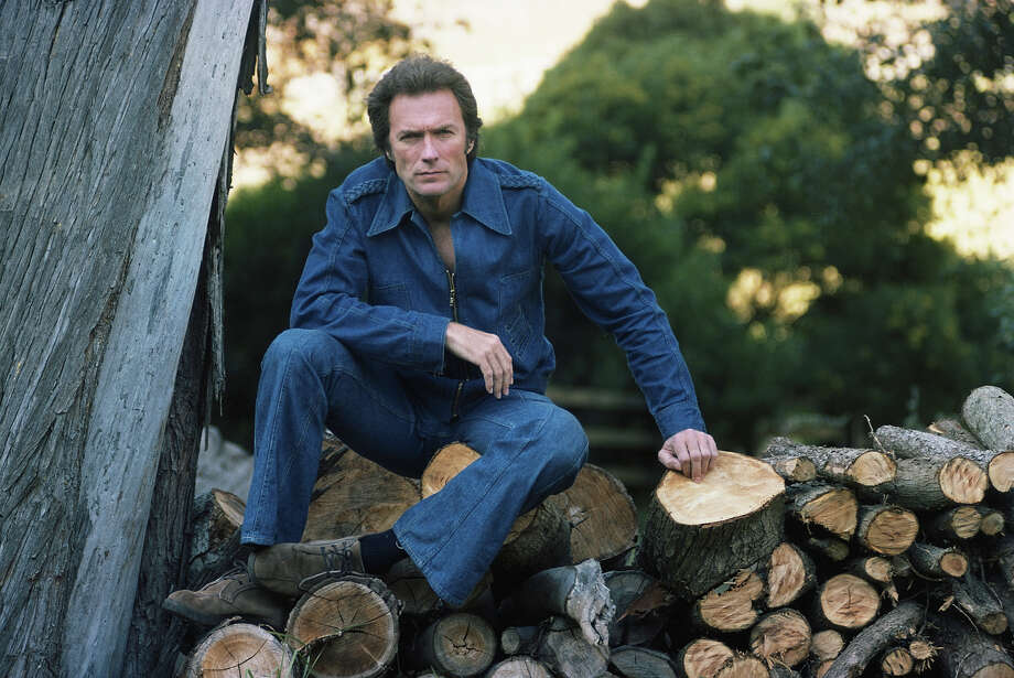 1976: Pretty much everyone looks ridiculous in a Canadian tuxedo, but don't tell circa 1976 Clint Eastwood, those were his Josey Wales days. He didn't mess around back then. Photo: David Montgomery, Getty Images / 2009 Getty Images