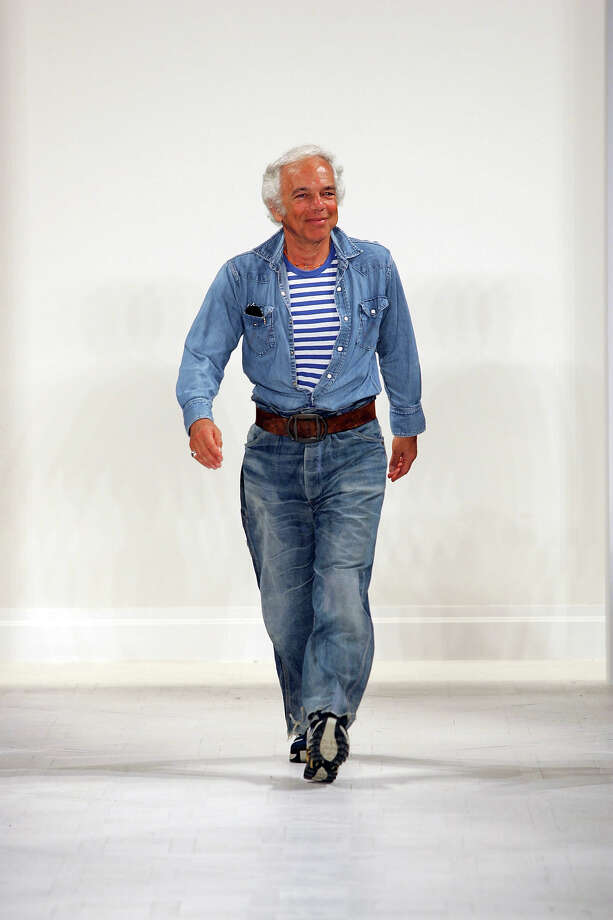 2006: Ralph Lauren took the Canadian tuxedo into the world of high fashion with this runway look and the rest is history. Photo: Randy Brooke, WireImage / WireImage