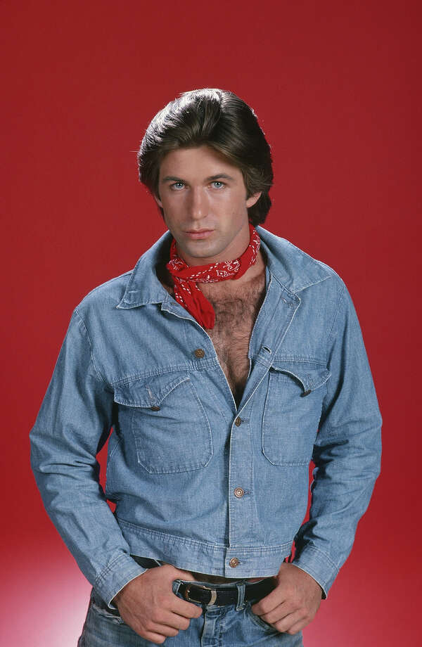 "Alec Baldwin displays perhaps the most glorious example of a Canadian tuxedo the world has ever seen, complete with the optional bandana accessory, ""The Manitoba Bow Tie.""Let's take a look back at the art of wearing denim on denim. Photo: NBC, NBC Via Getty Images / © NBC Universal, Inc."