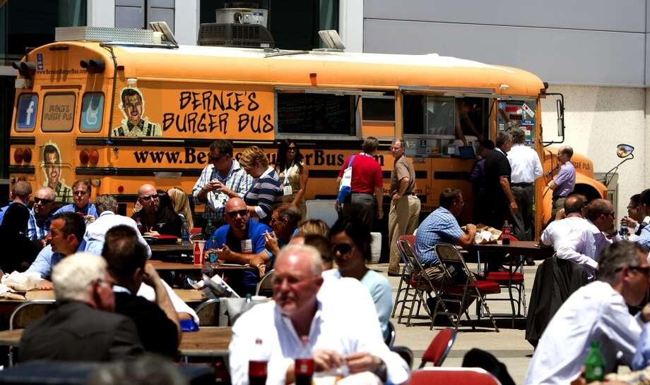 Bernie's Burger Bus in Houston