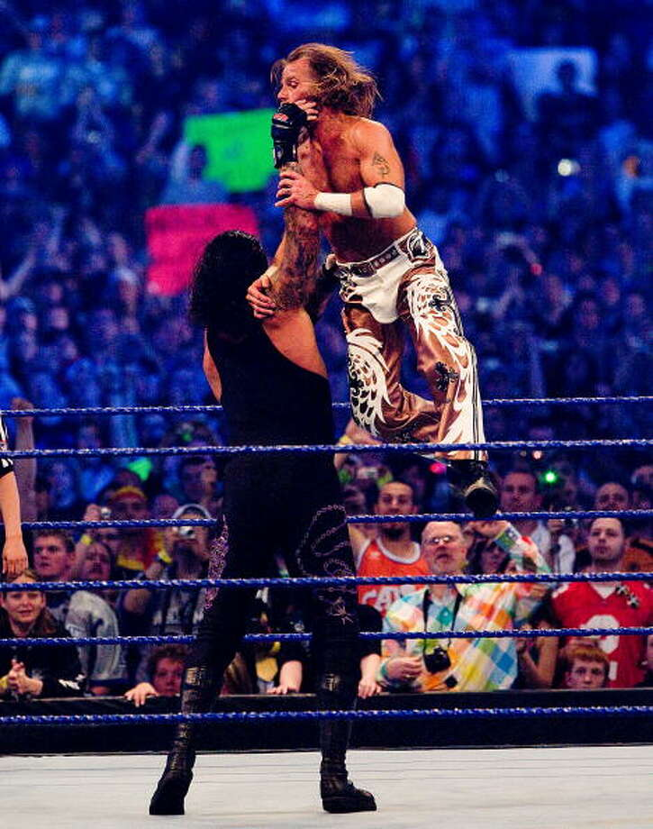Signature movesThe Undertaker has three finishing moves at his disposal: The Chokeslam, the Tombstone Piledriver and the Last Ride, a modified powerbomb. Photo: Bob Levey, WireImage / 2009 Bob Levey